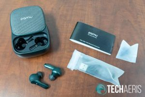 What's included with the PaMu Slide TWS earbuds