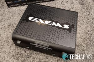 The front of the GAEMS Sentinel Pro