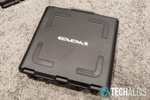 The back of the GAEMS Sentinel Pro