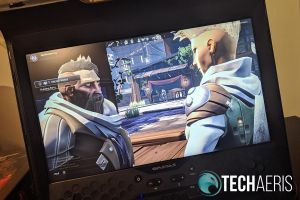 """The 17"""" FHD display on the GAMES Sentinel Pro is pretty decent"""
