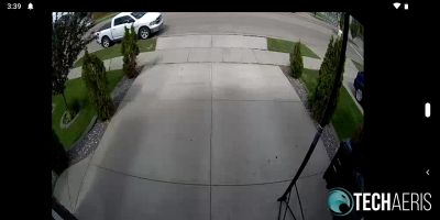Screenshot of Live View in SAFE by Swann app