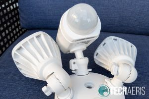 The dome houses Swann's True Detect passive infrared (PIR) motion sensor