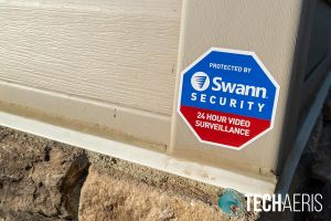 Included Swann Security sticker