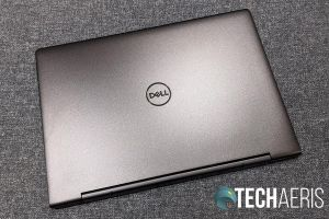 Top view of the 2019 Dell Inspiron 13 7000 2-in-1