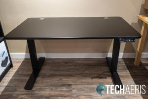 The assembled SmartDesk 2 Home Office with Classic Top