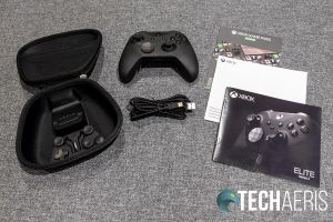 What's included with the Xbox Elite Wireless Controller Series 2