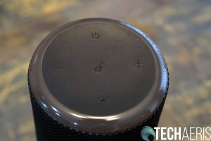 Anker Soundcore Flare 2 top with function buttons