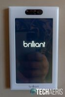 The Brilliant 1-Switch Control with face plate on