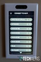 Select your Wi-Fi network, note: 2.4GHz network support only