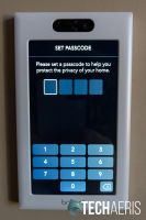 Set a passcode to access privacy options