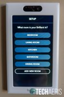 Assign your Brilliant Home Control to a room