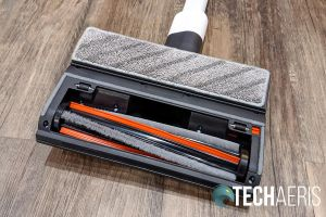 The pad on the mop attachment for the ROIDMI X20 Cordless Vacuum Cleaner