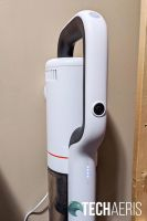 The wall mounted charging dock for the ROIDMI X20 Cordless Vacuum Cleaner