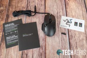 What's included with the Razer Basilisk V2 gaming mouse